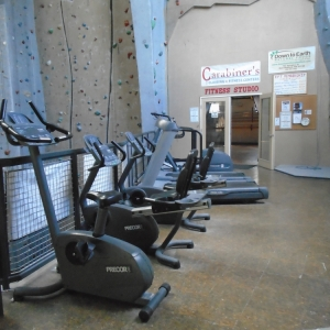 Cardio Equipment at Carabiner's