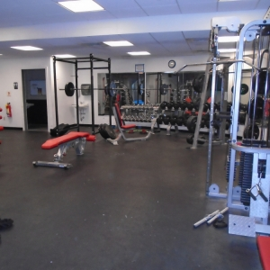 Weight Room at Carabiner's