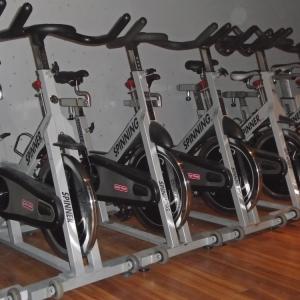 Spin Bikes at Carabiner's