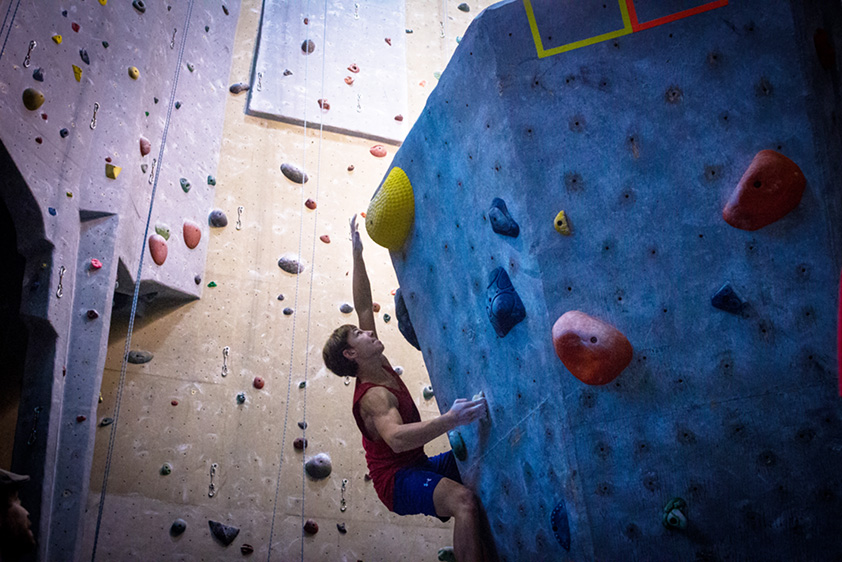 USA Climbing Youth Competition.