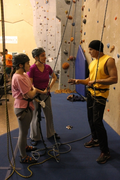 Belay Course with Steve.