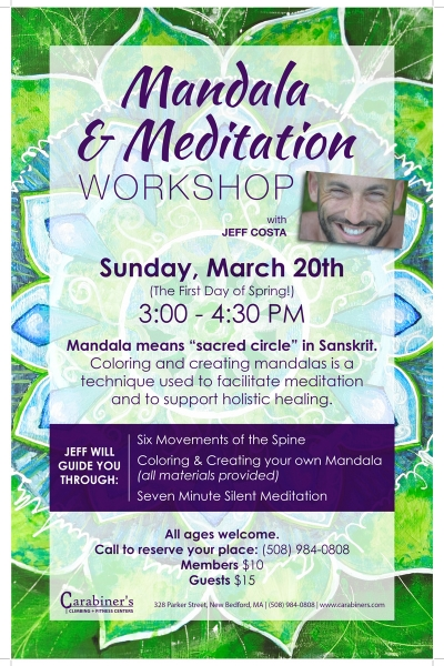 Mandala & Meditation Workshop