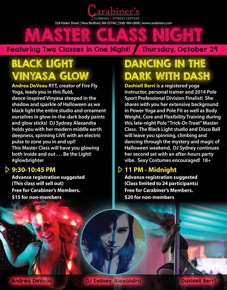Master classes Oct 29, 2015