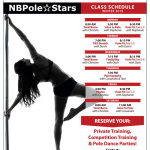 Pole Fitness Schedule Winter 2016