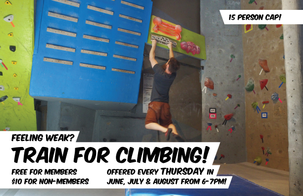 New climbing courses for the summer!!