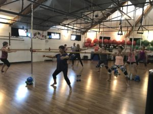 Barre with Donna