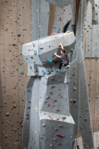 Carabiner's has 65' walls for you to climb!